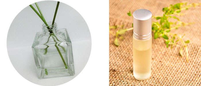 Composición del aceite de citronella de Cymbopogon nardus y winterianus