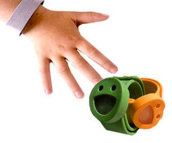 Uso de las pulseras de citronela para niños