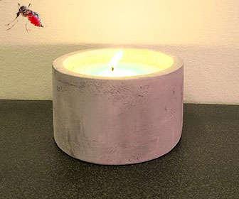 Recomendaciones de uso de las velas de citronela